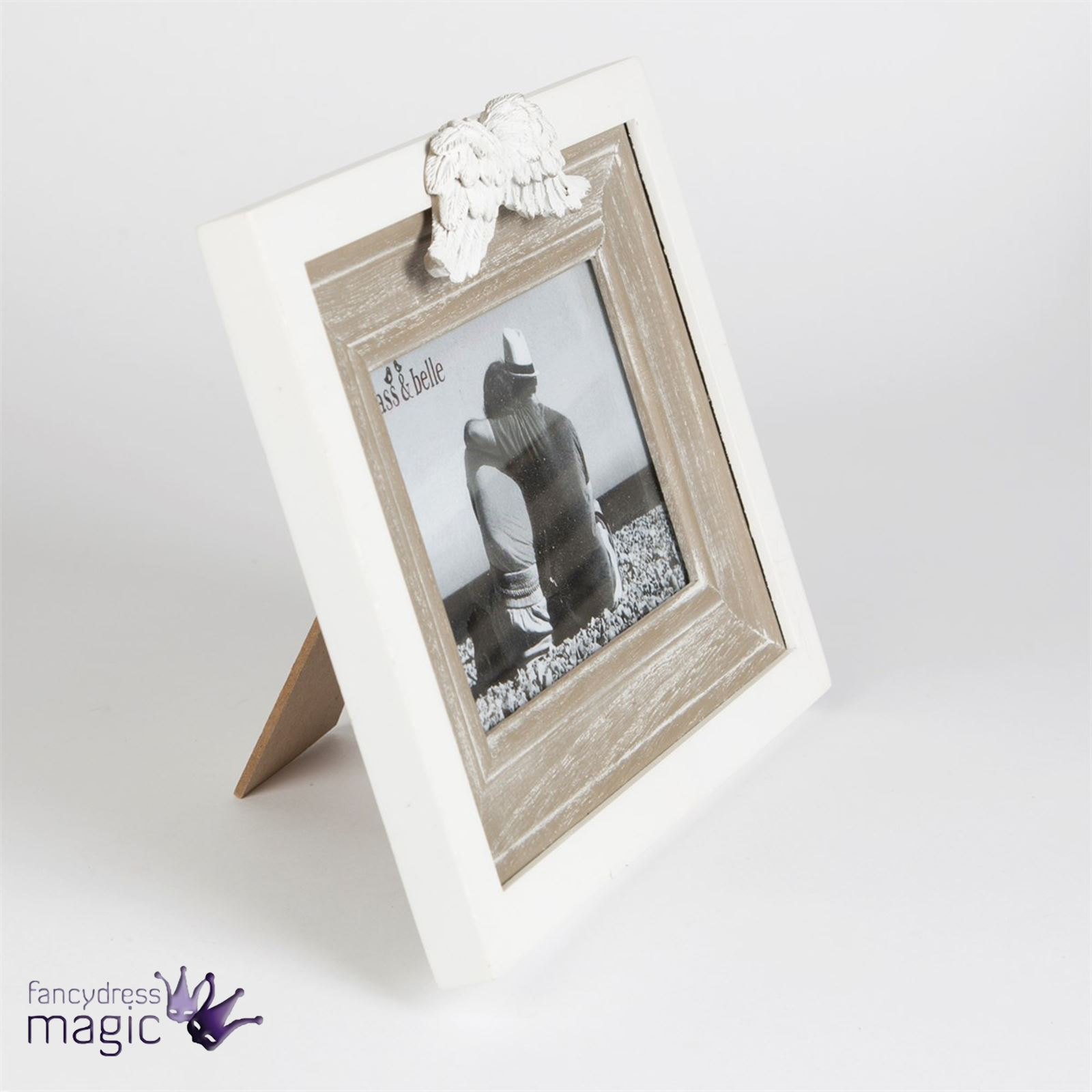 Sass belle wooden angel wings photo picture photograph frame sass amp belle wooden angel wings photo picture jeuxipadfo Image collections