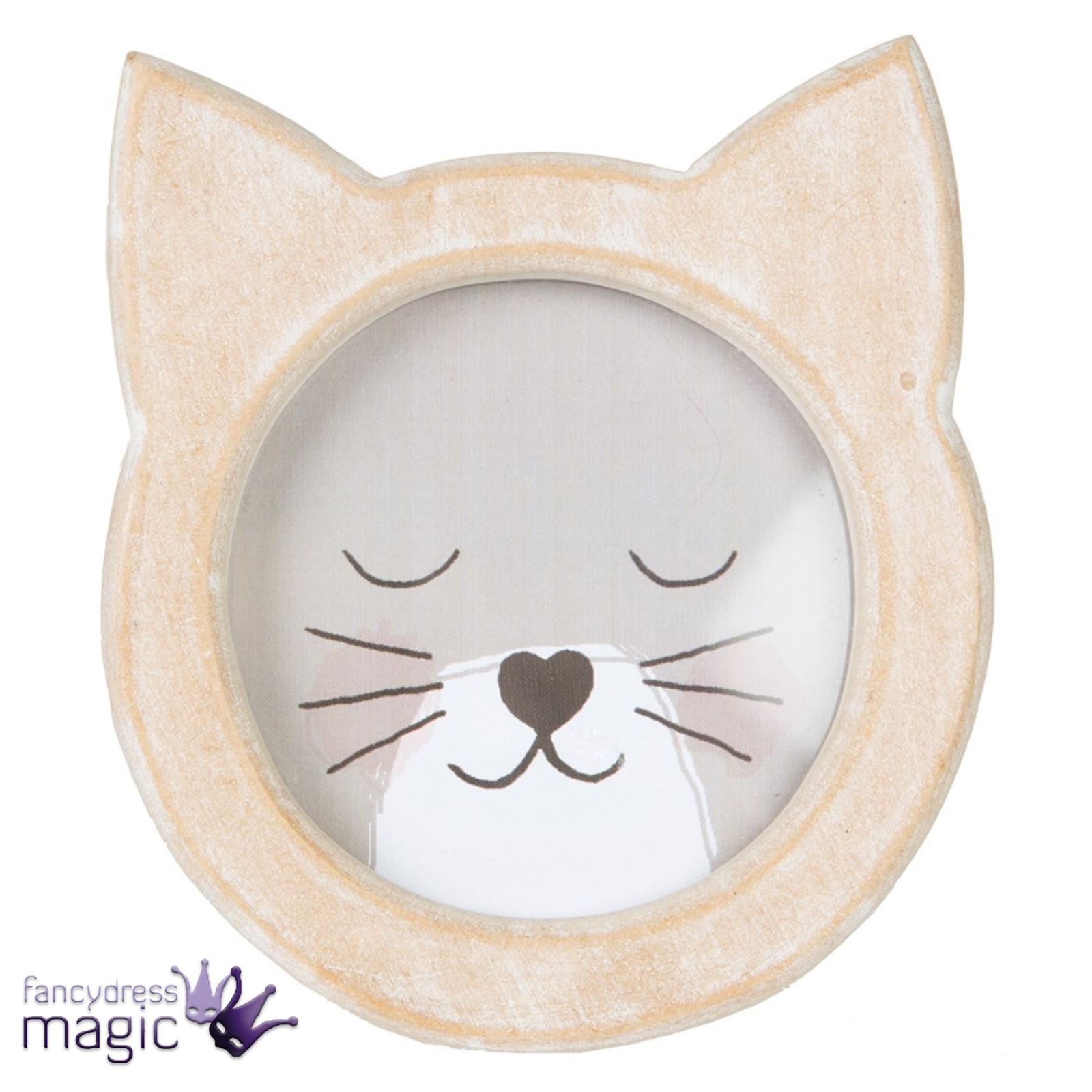 1wooden Cat Shape Photo Frame Rustic Standing by Sass & Belle   eBay