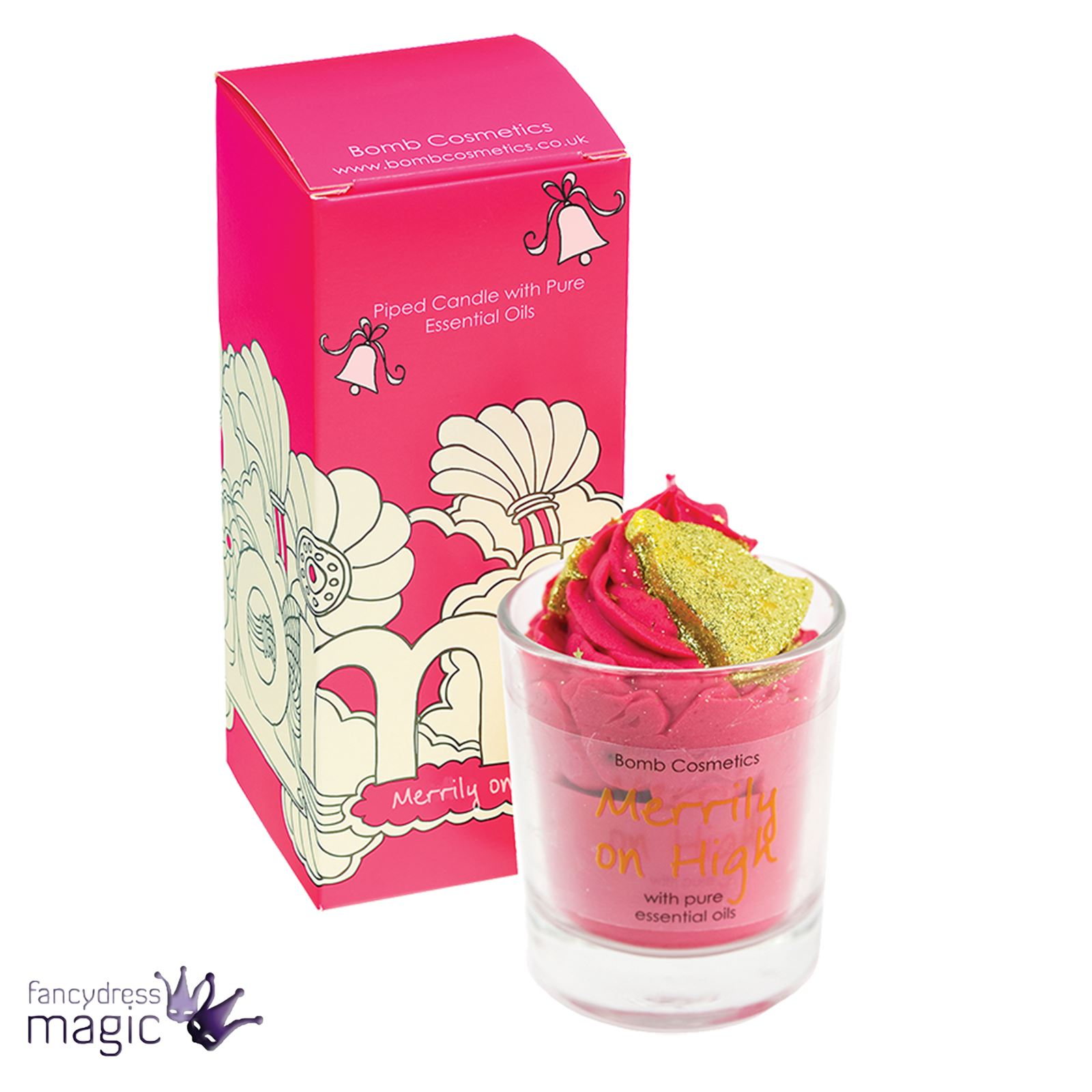 Bomb-Cosmetics-Handmade-Piped-Glass-Candle-Vegan-Pure-Essential-Oils-Boxed-Gift thumbnail 20