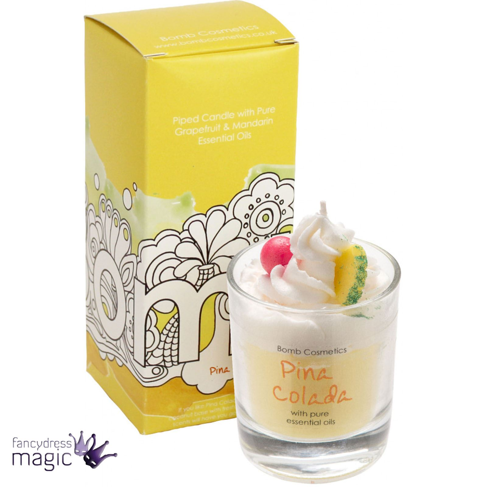 Bomb-Cosmetics-Handmade-Piped-Glass-Candle-Vegan-Pure-Essential-Oils-Boxed-Gift thumbnail 23