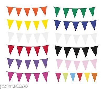 10m-Plastic-Bunting-Fete-Gala-Party-Banners-20-Flags-Giant-Indoor-Outdoor-Decor thumbnail 12