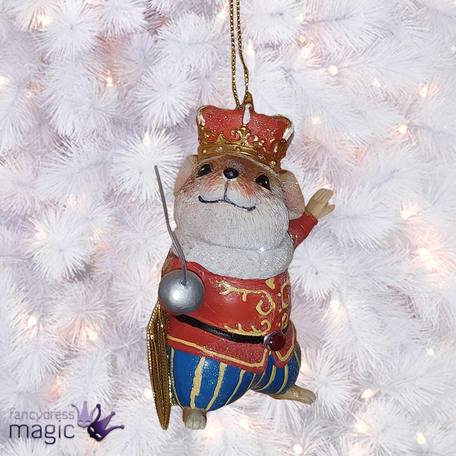 Gisela Graham Resin Mouse Mice Glitter Jewel Christmas Tree Ornament ...