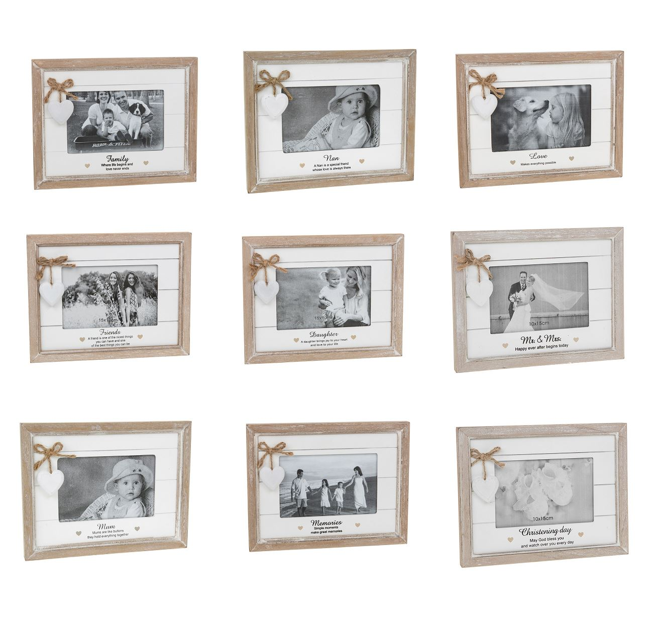 Provence 15.2cmx10.2cm Billig Holz Foto Bilder Rahmen Beunruhigt ...