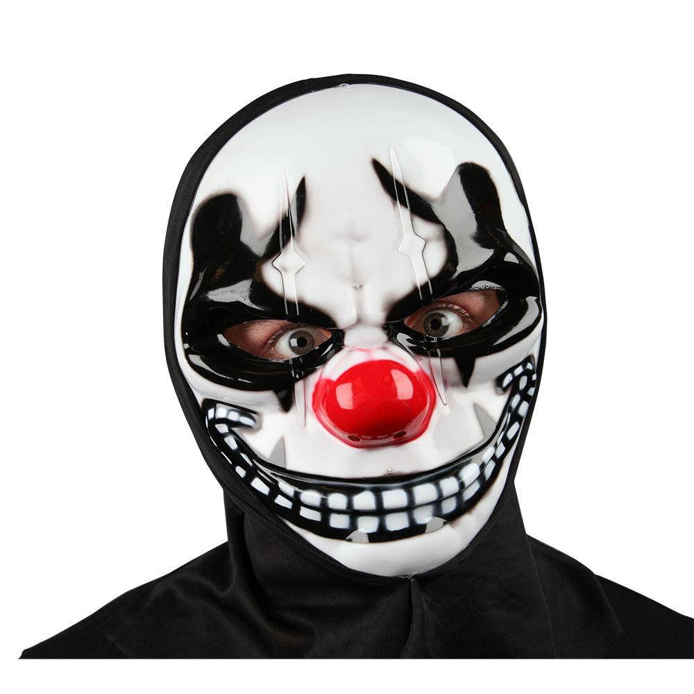 sinister freaky clown purge horror halloween mask hood fancy dress