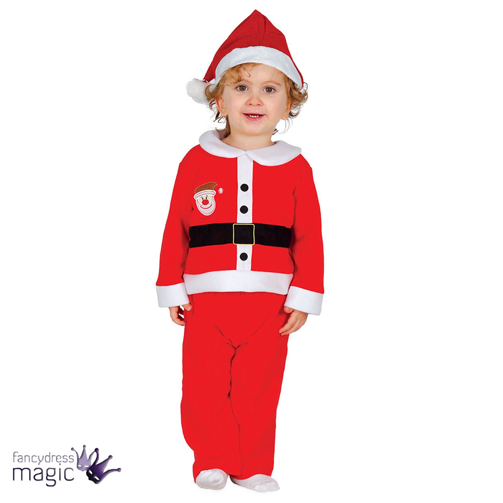 Baby-Toddler-Boys-Santa-Claus-Christmas-Xmas-Fancy-  sc 1 st  eBay : reindeer fancy dress costume  - Germanpascual.Com