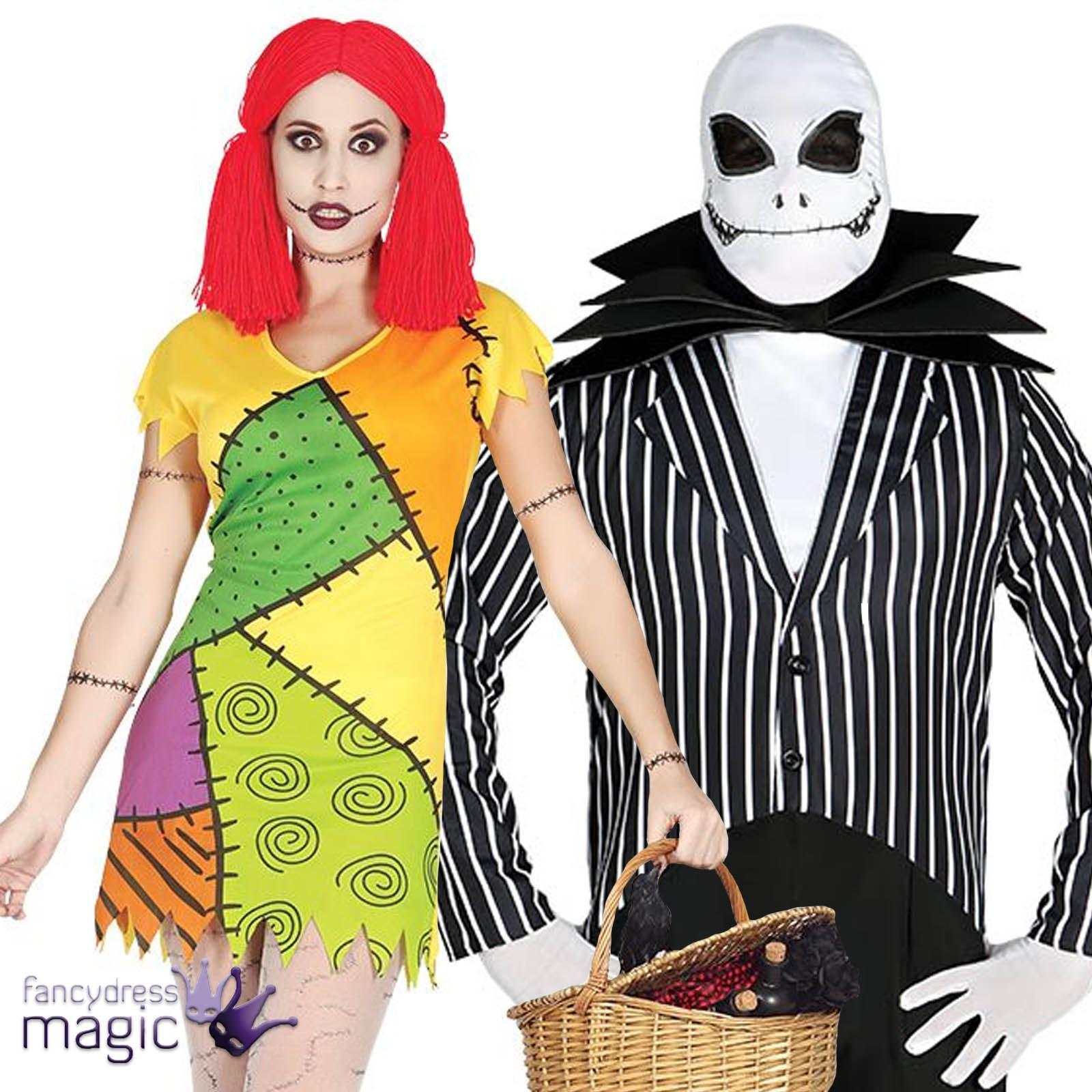 erwachsene herren damen paar herr skelett anzug rag puppe. Black Bedroom Furniture Sets. Home Design Ideas