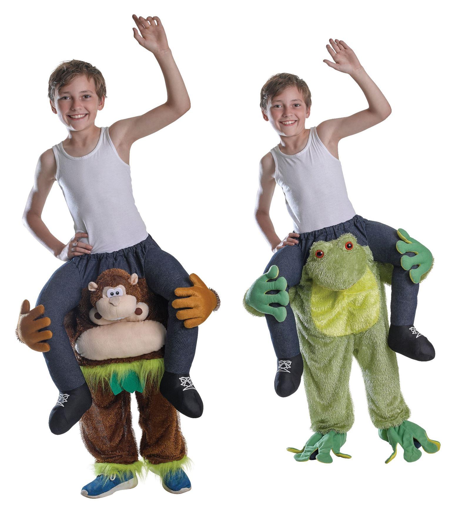 9abd527d840c Childs Kids Boys Girls Piggy Back Funny Animal Mascot Fancy Dress ...