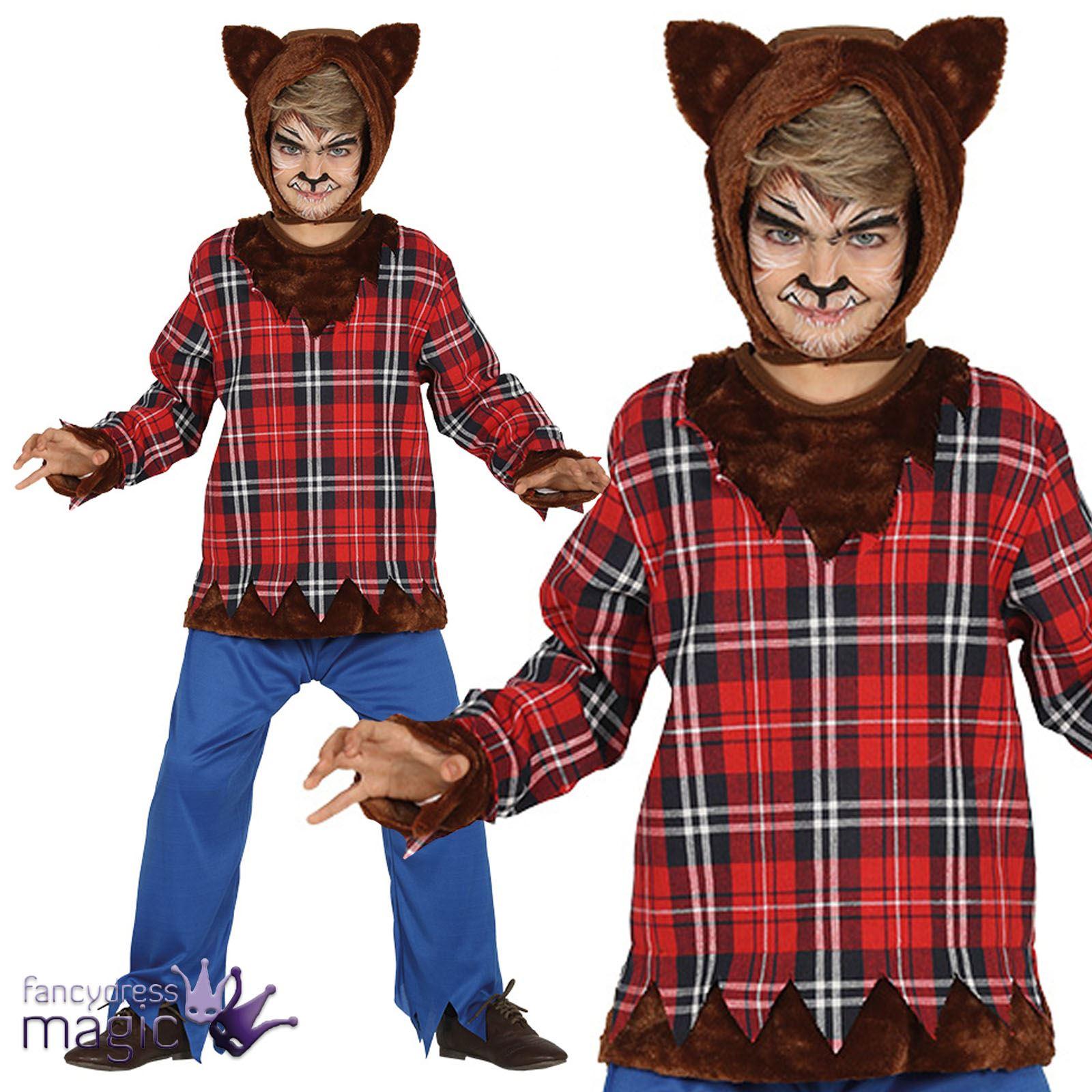 Werewolf Toys For Boys : Childs boys scottish scot teen wolf werewolf burns night