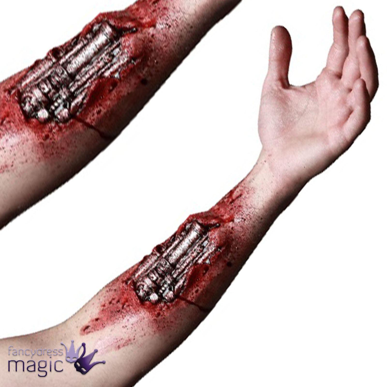 Monster High Ebay >> Terminator Genisys Cyborg Robot Fancy Dress Latex Arm Prosthetic Wound Appliance 886390107037   eBay