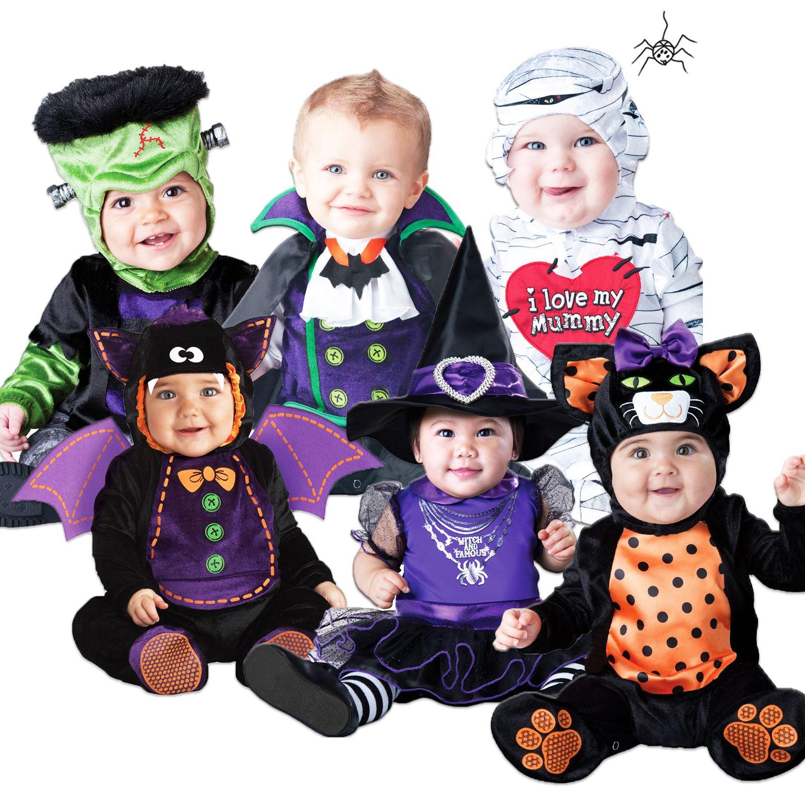baby babys kleinkinder halloween hexe vampir strampler kost m ebay. Black Bedroom Furniture Sets. Home Design Ideas