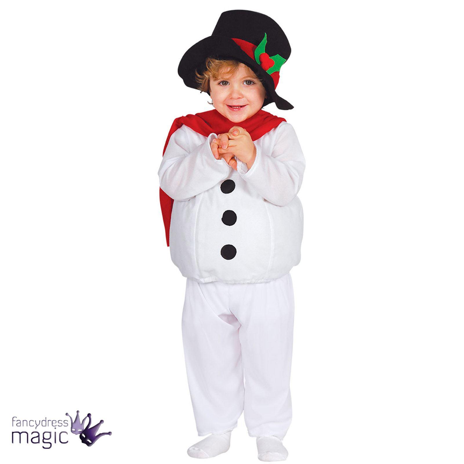Monster High Ebay >> Bebé Niño Navidad Muñeco De Nieve Disfraz Sombrero Belén nieve | eBay