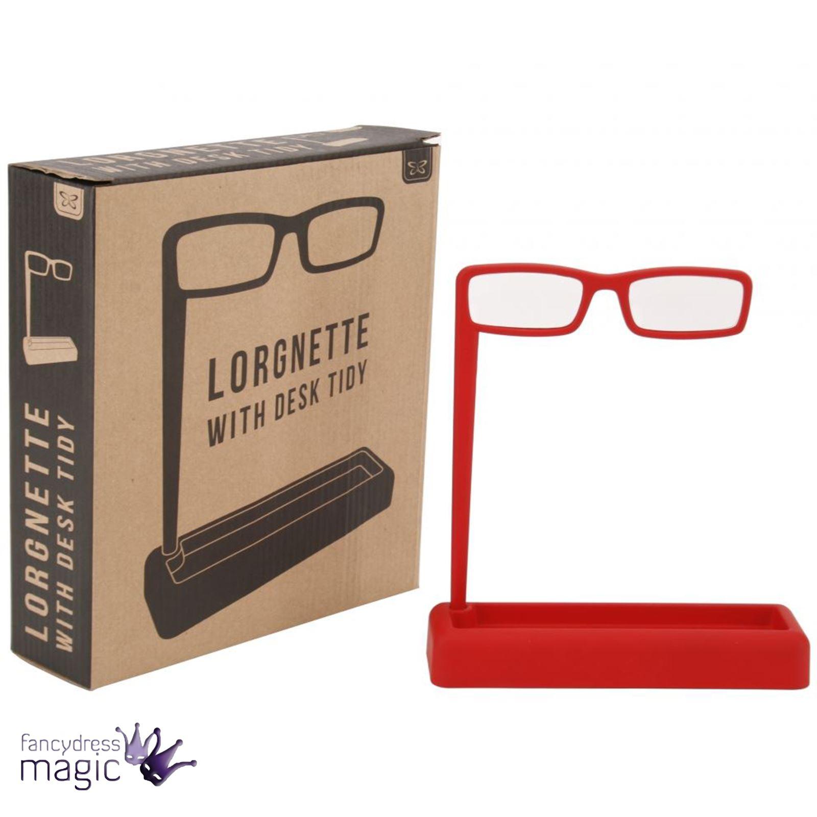 9cec5f4105b Nerd Chic Opera Lorgnette Glasses Desk Tidy Set Office Desk Stationery Home  Gift