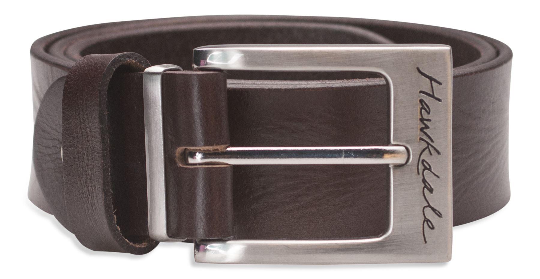 "XXLarge 112-122cm Hawkdale 1 1//2"" Full Grain Leather Belt Black"