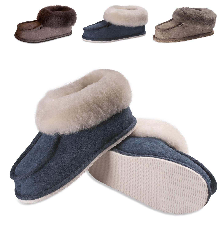 Señoras Zapatillas de Piel de Oveja Oveja Oveja Real Pastor botas suela dura mujer Lena 472 Original  buen precio