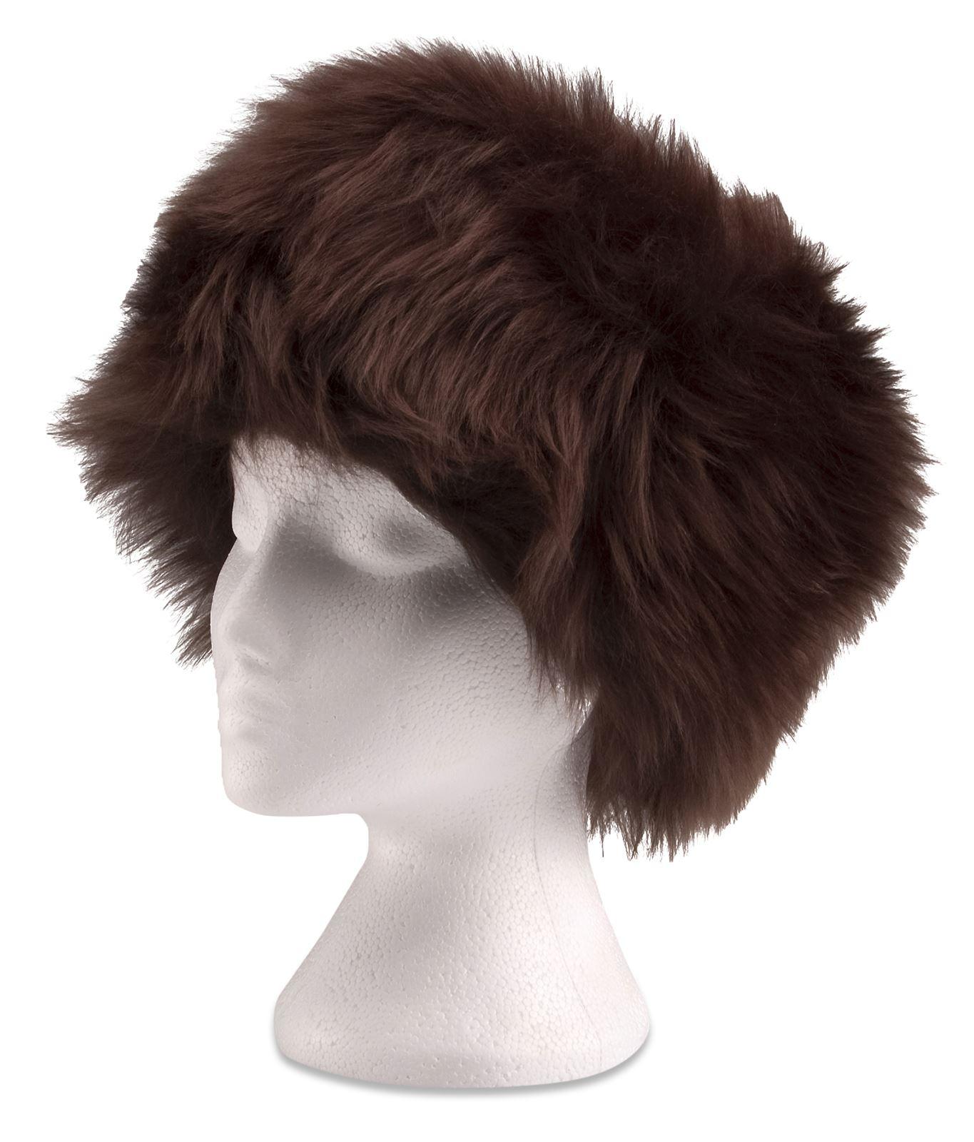 Ladies //Womens Genuine Sheepskin Hat Russian Cossack style Black Brown Natural
