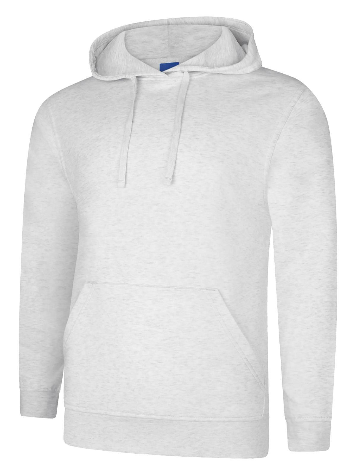 Mens Womens Super Soft Deluxe Hooded Sweatshirt Hoodie