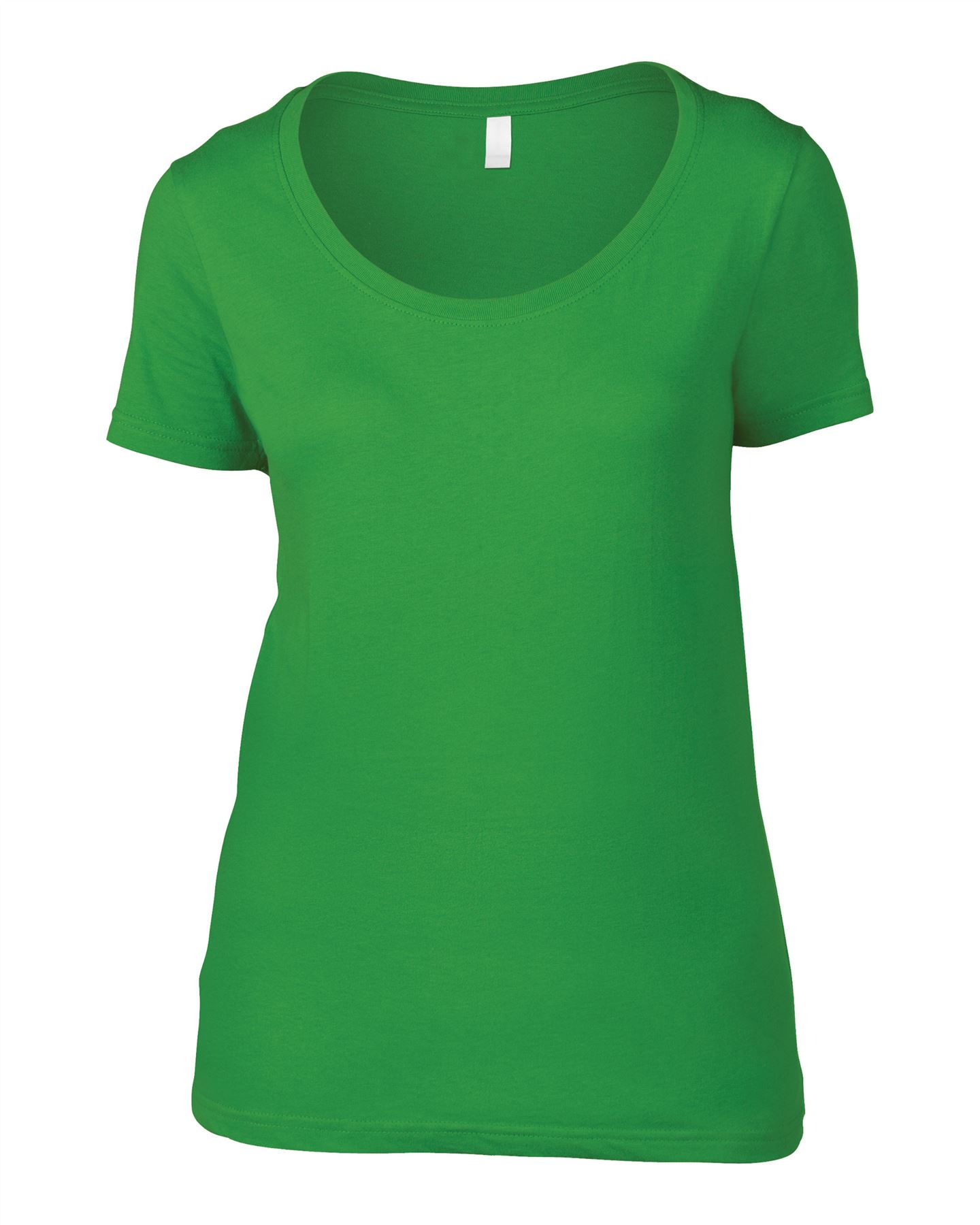 Anvil-Women-039-s-Trendy-featherweight-Scoop-Cotton-Tee-TShirt-T-Shirt-lot