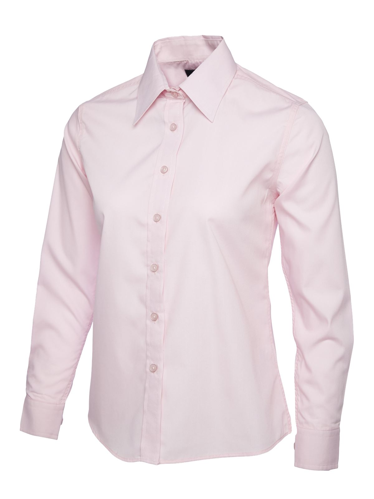 Uneek-Ladies-Poplin-Full-Sleeve-Formal-Shirt-Work-Office-Long-School-Lot