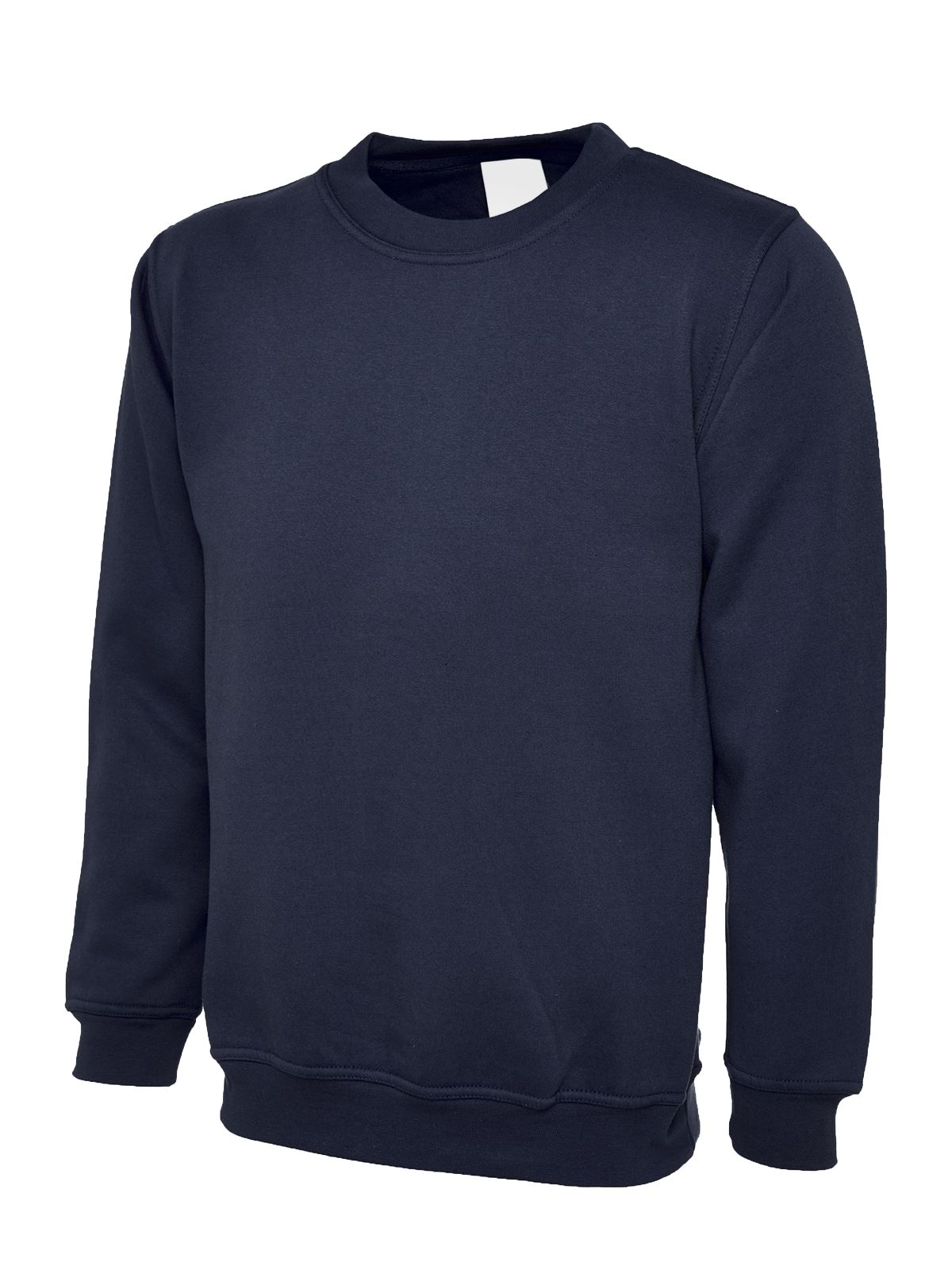 Mens-amp-Womens-Sweatshirt-Cotton-Polyester-Jumper-Plain-Sweater-Work-Casual-lot