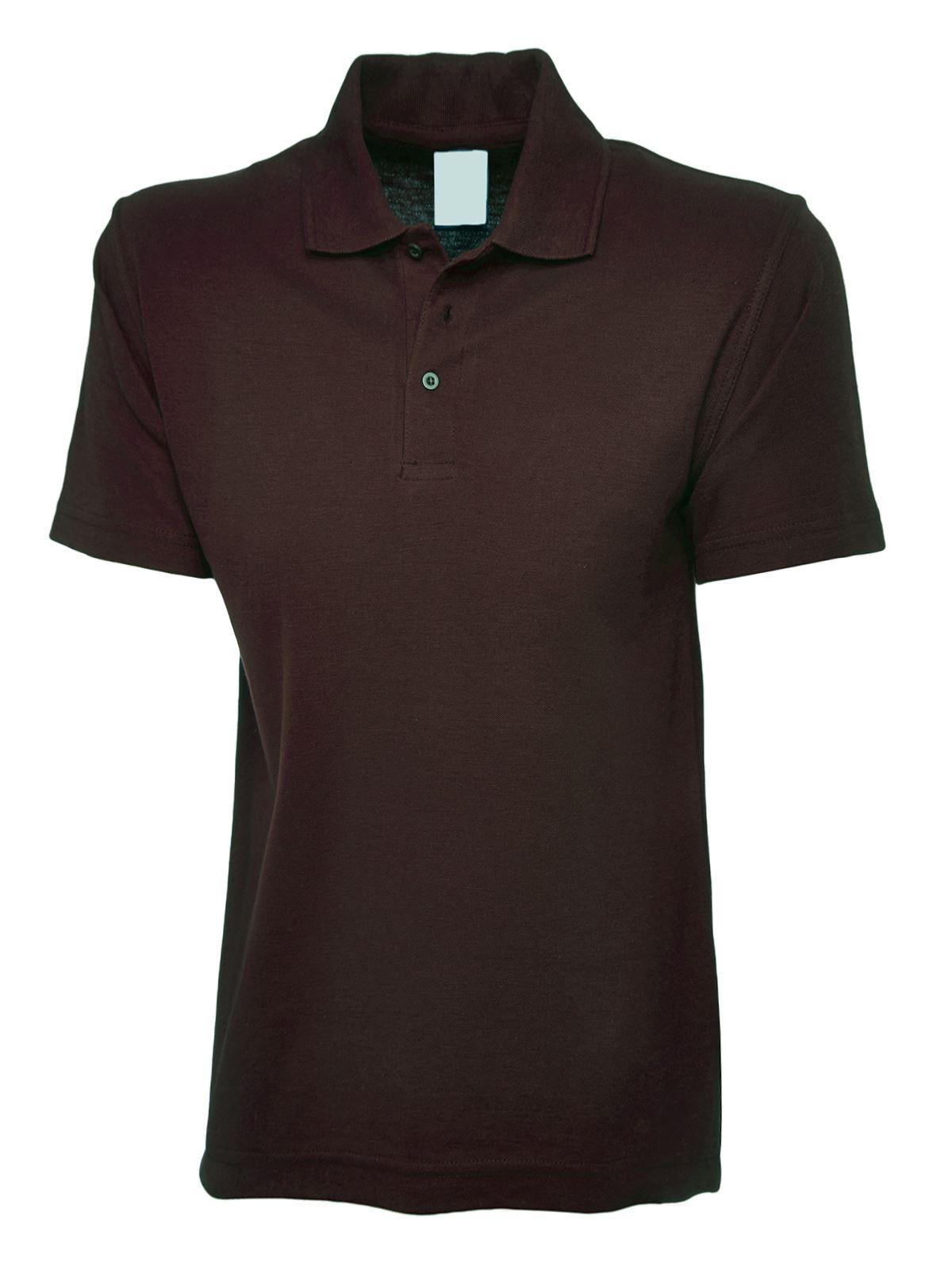 Boys & Girls Polo Shirt Kids Uniform School PE Club Top ...