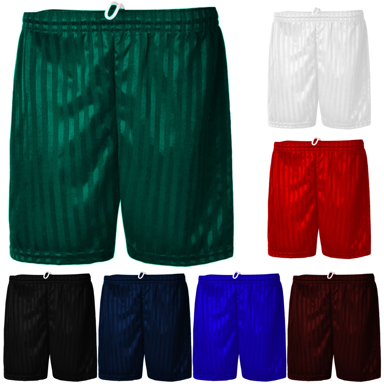 Only Global Shadow Stripe PE Shorts Boys Girls Unisex Adult Sports Football Gym School Short