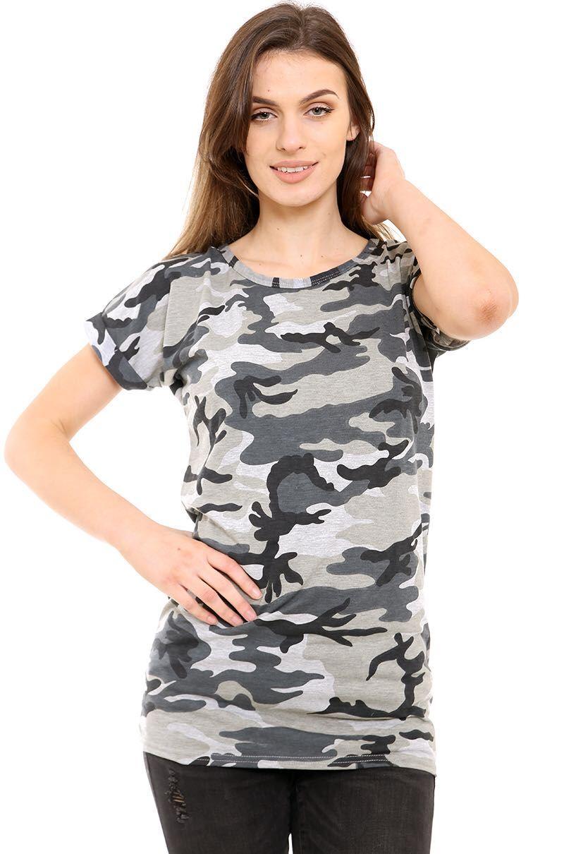 New Womens Ladies Plain Oversized Pj Shift T Shirts