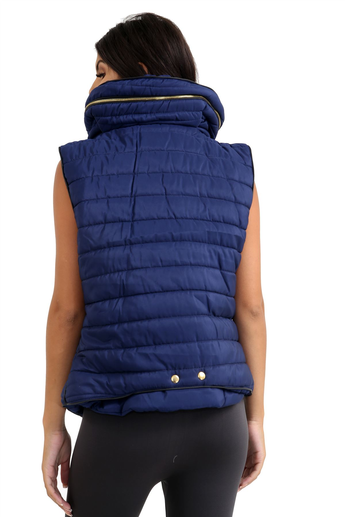 Ladies-Gilet-Quilted-Padded-Body-Warmer-Sleeveless-Fur-Collar-Puffer-Jacket-Coat thumbnail 13