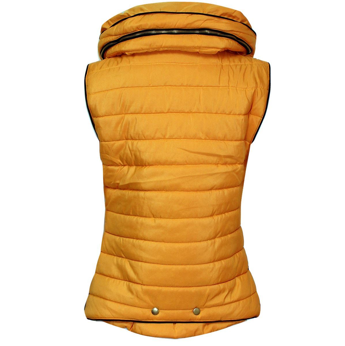 Ladies-Gilet-Quilted-Padded-Body-Warmer-Sleeveless-Fur-Collar-Puffer-Jacket-Coat thumbnail 11