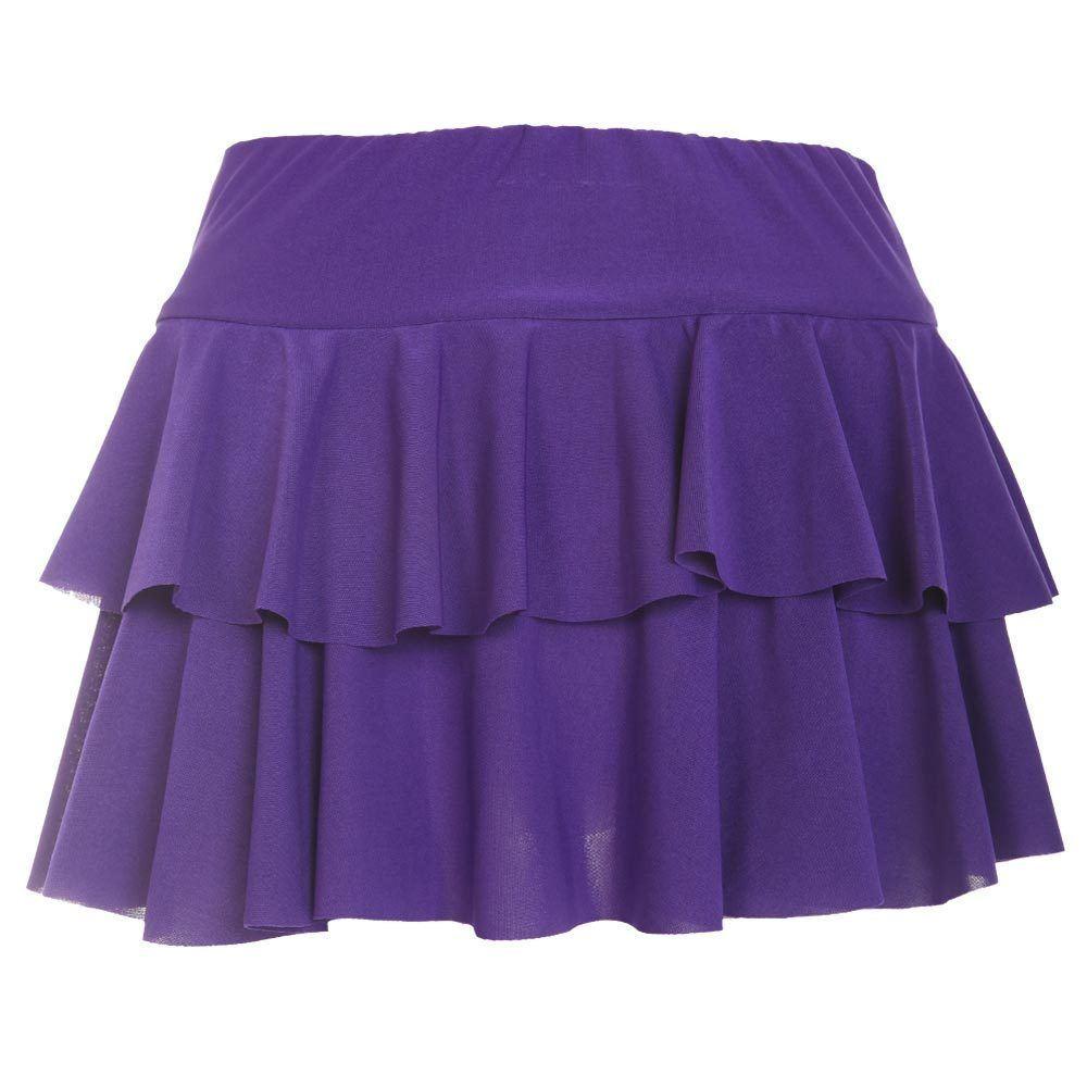 New Ladies Girls Plain Printed Sexy Rara Mini Skirt Women Club ...