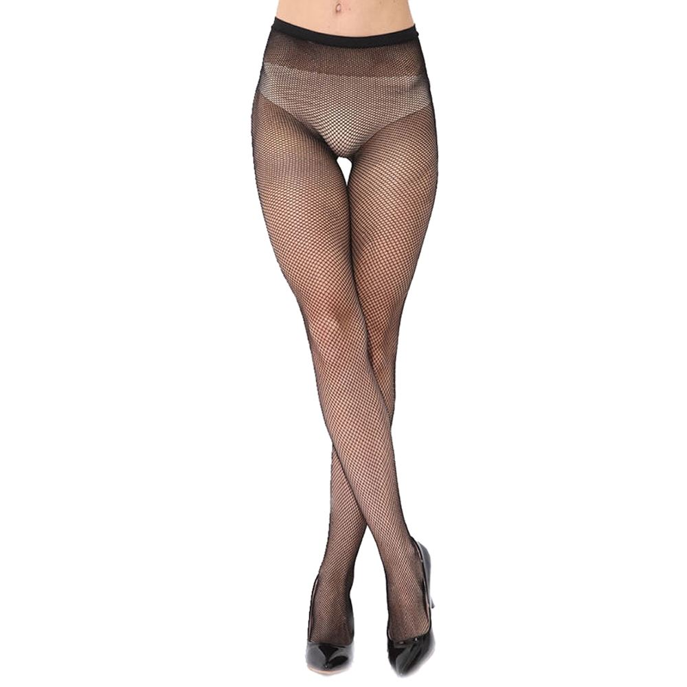 343ed5b8b6727 Details about New Womens Whale Net Fishnet Burlesque Hoise Pantyhose Fence Skinny  Black Tights