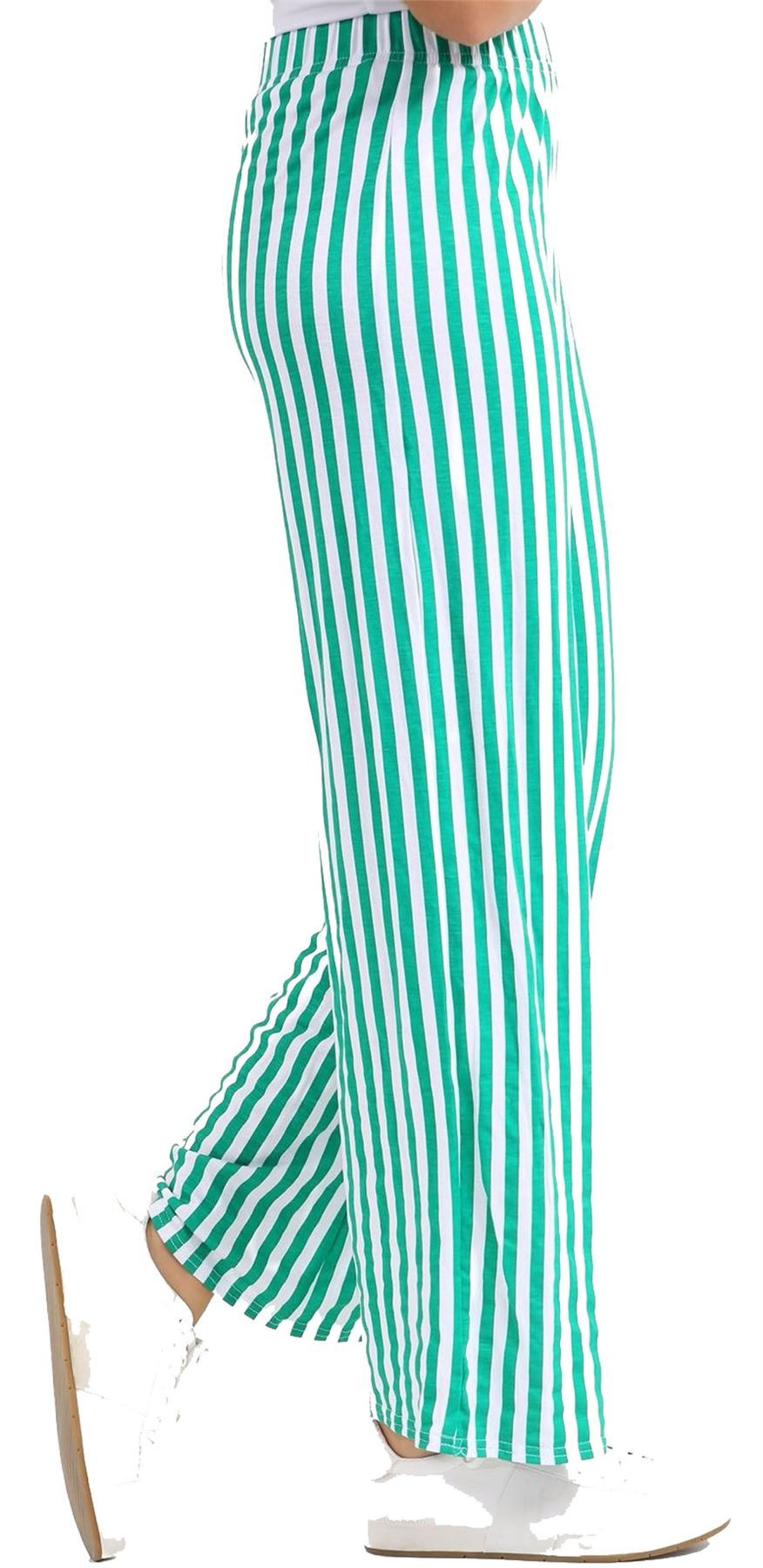 New-Ladies-Floral-Printed-Wide-Leg-Flared-Parallel-Baggy-Trousers-Pants-Palazzo thumbnail 16