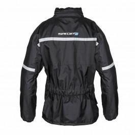Spada-Eau-Veste-Moto-Textile-Impermeable-Noir-Haute-Visibilite-Hiver miniature 9