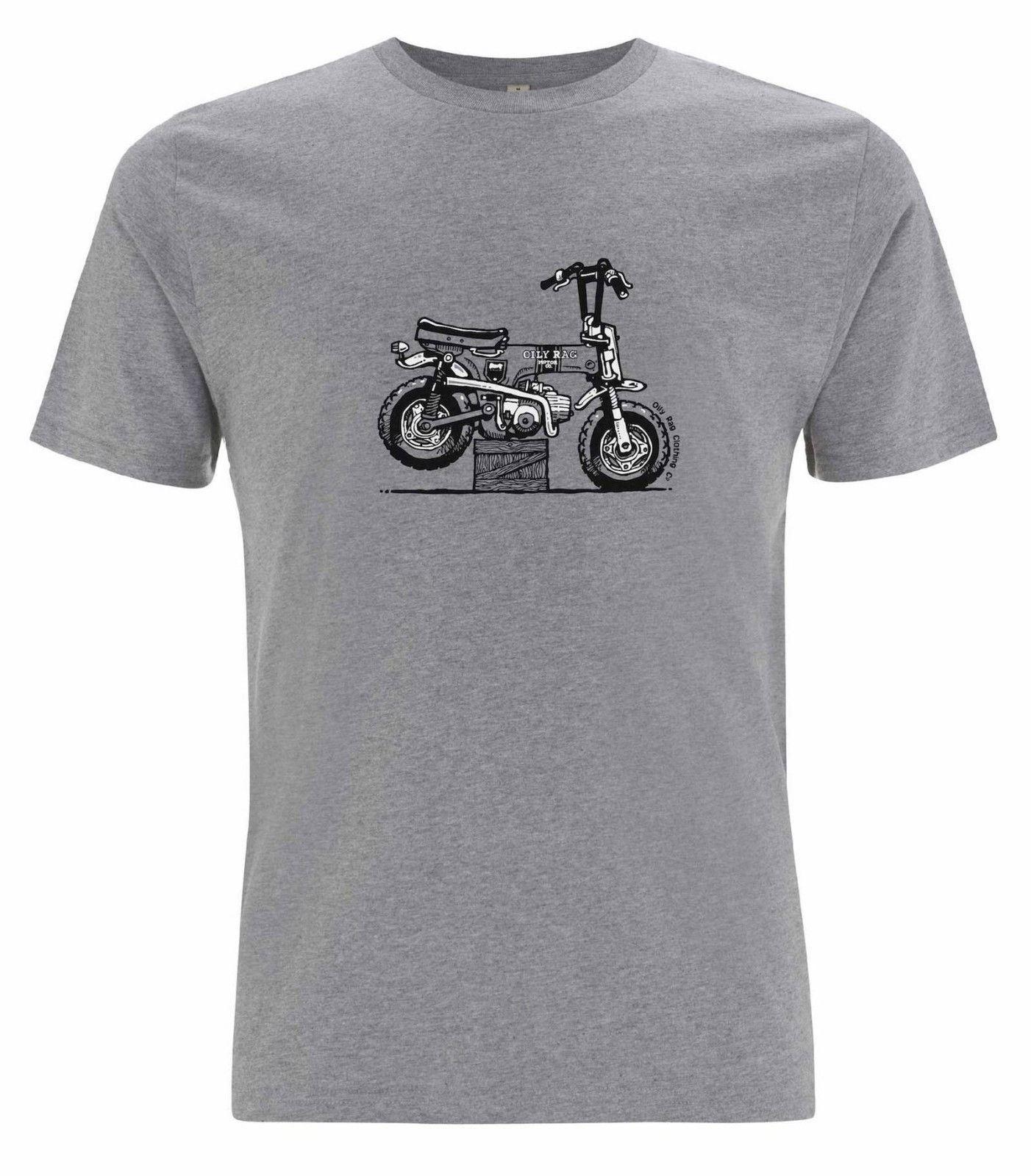 youngtimer bike Honda Monkey moto oldtimer T-shirt