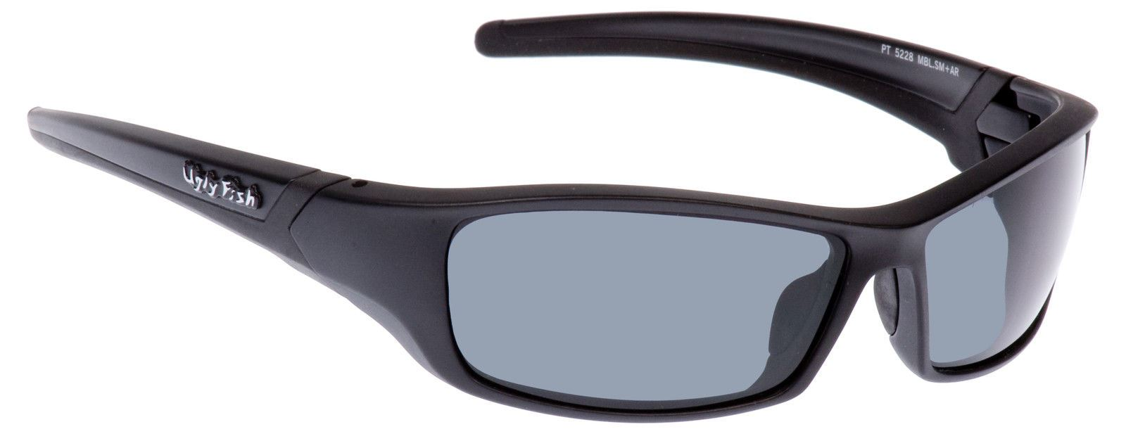 3d186a8d715 Ugly Fish Sunglasses Matt Black With Smoke Lens Sports Shades Eyewear RS5228