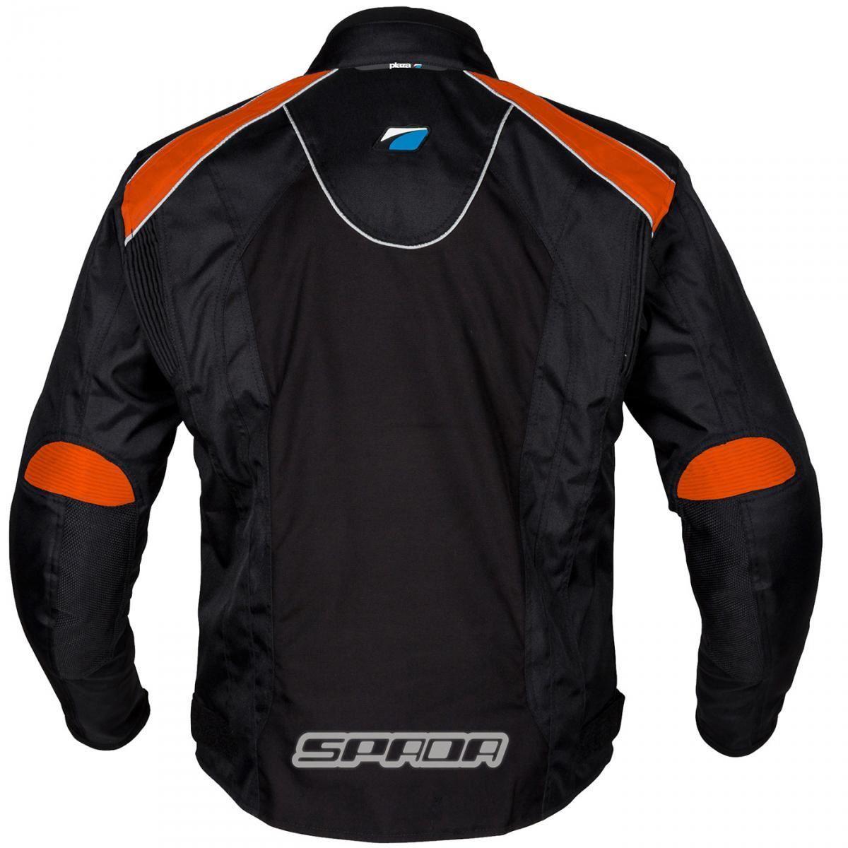 Spada-Plaza-Motorcycle-Jacket-Black-KTM-Orange-Waterproof-Thermal-M-2XL thumbnail 16
