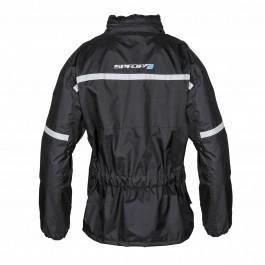 Spada-Eau-Veste-Moto-Textile-Impermeable-Noir-Haute-Visibilite-Hiver miniature 21