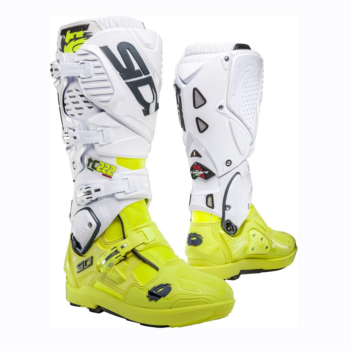 Size 47 Sidi Gas Motorcycle Boot Black