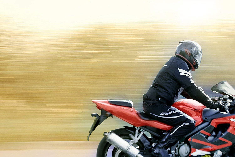 9f8e5d97884 Blouson Veste Moto Homme Imperméable Avec Armure Multi Fonctionnel Textile  Noir 4 4 sur 5 ...