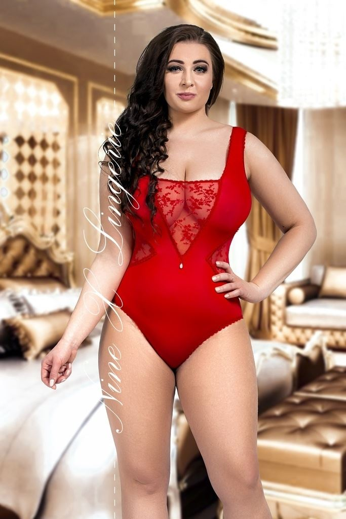 Sexy plus size bodysuit