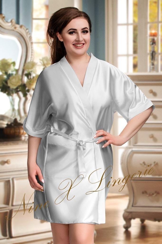 Nine X Satin Dressing Gown Plus Size 8-26 S-7XL Bridesmaid, Children ...