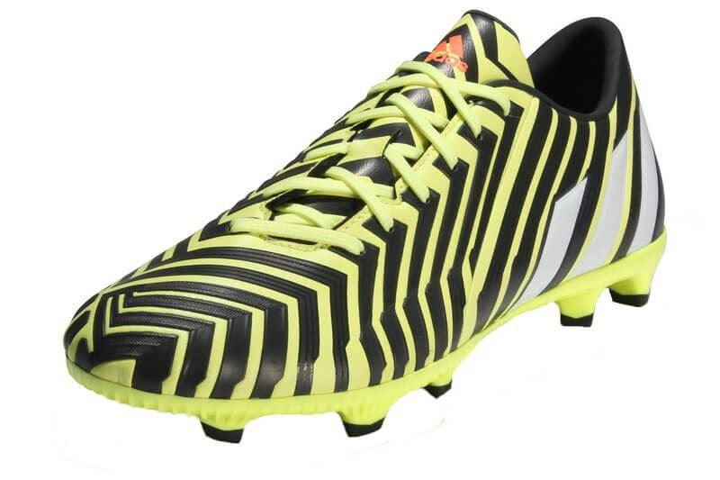 buy online 021b1 d2808 Adidas Predator Absolado Instinct FG Football Boots (YellowGrey)-UK Size 10