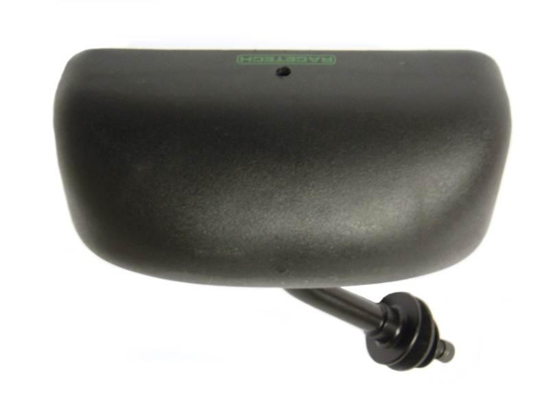 Black//Flat Glass// Left Hand Racetech Universal Single Seater Handed Rear Mirror