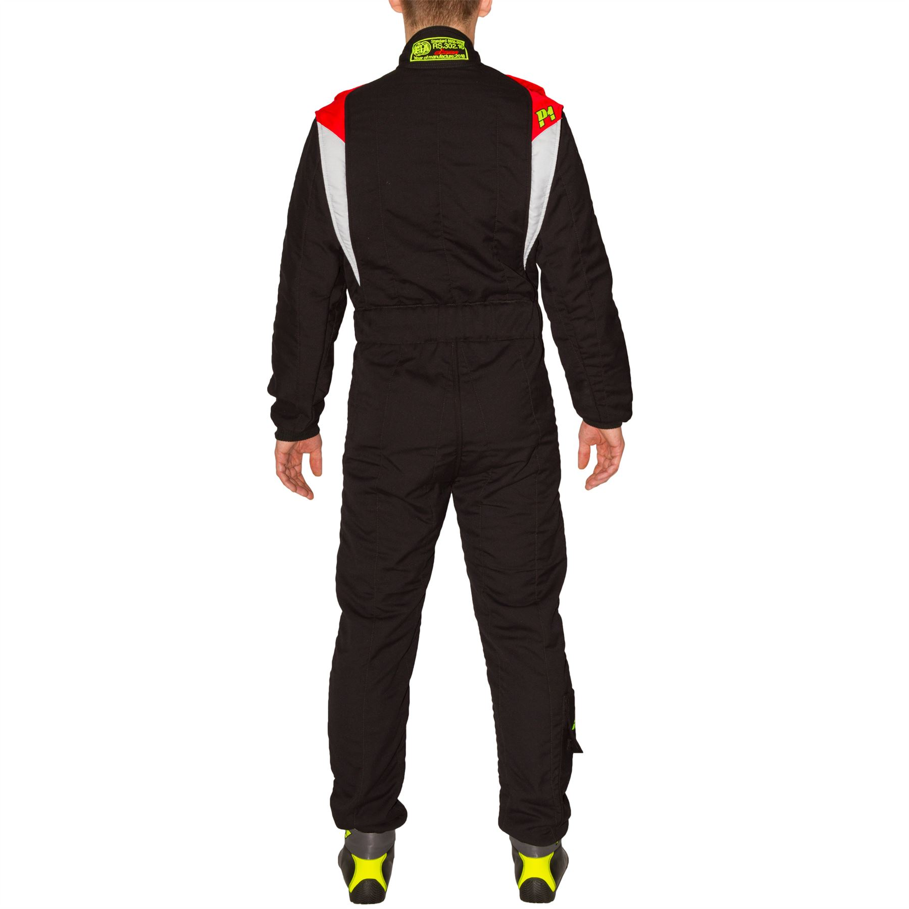 Indexbild 4 - P1-Racewear-Smart-X3-2-Layer-Race-Rally-Suit-Nomex-FIA-Approved