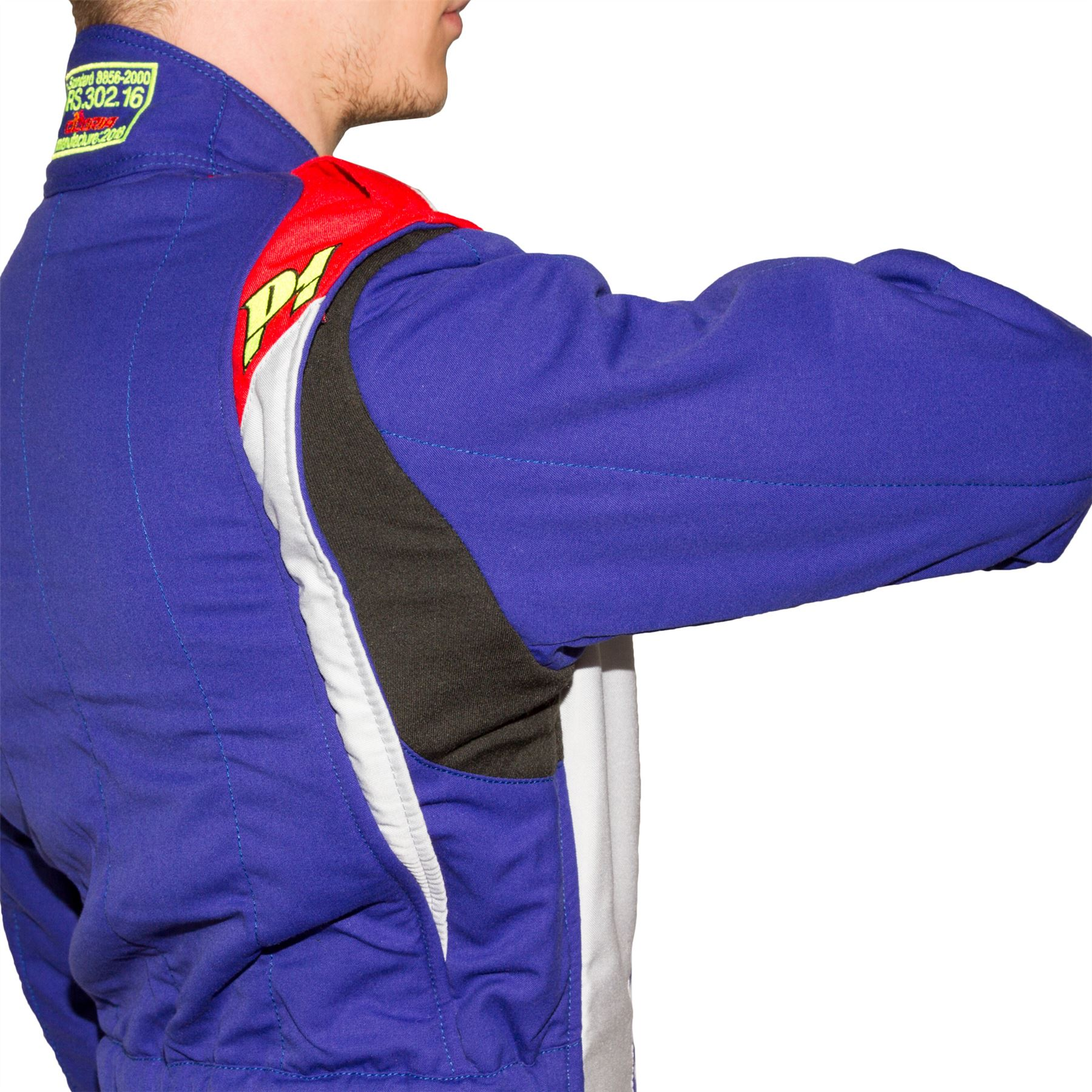 Indexbild 7 - P1-Racewear-Smart-X3-2-Layer-Race-Rally-Suit-Nomex-FIA-Approved