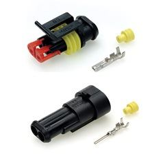 Auto-Marine-2-Way-Superseal-Waterproof-Electrcal-Connector-Kit