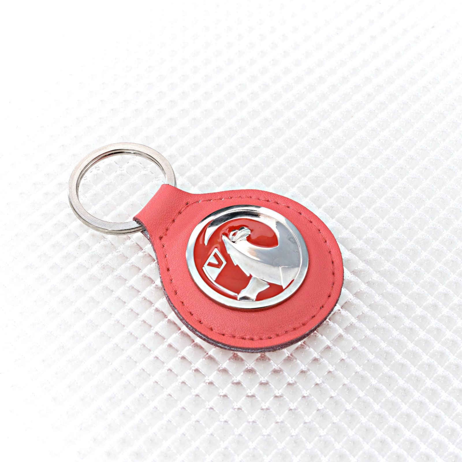 Richbrook Official Spectrum Range Keyring Sky Blue With Vauxhall Logo
