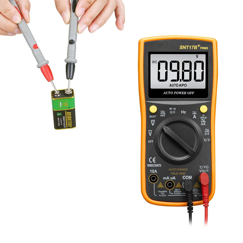 Digital Lcd Multimeter Voltmeter Ammeter Ac Dc Circuit Voltage Meter Tester Amp Ohm