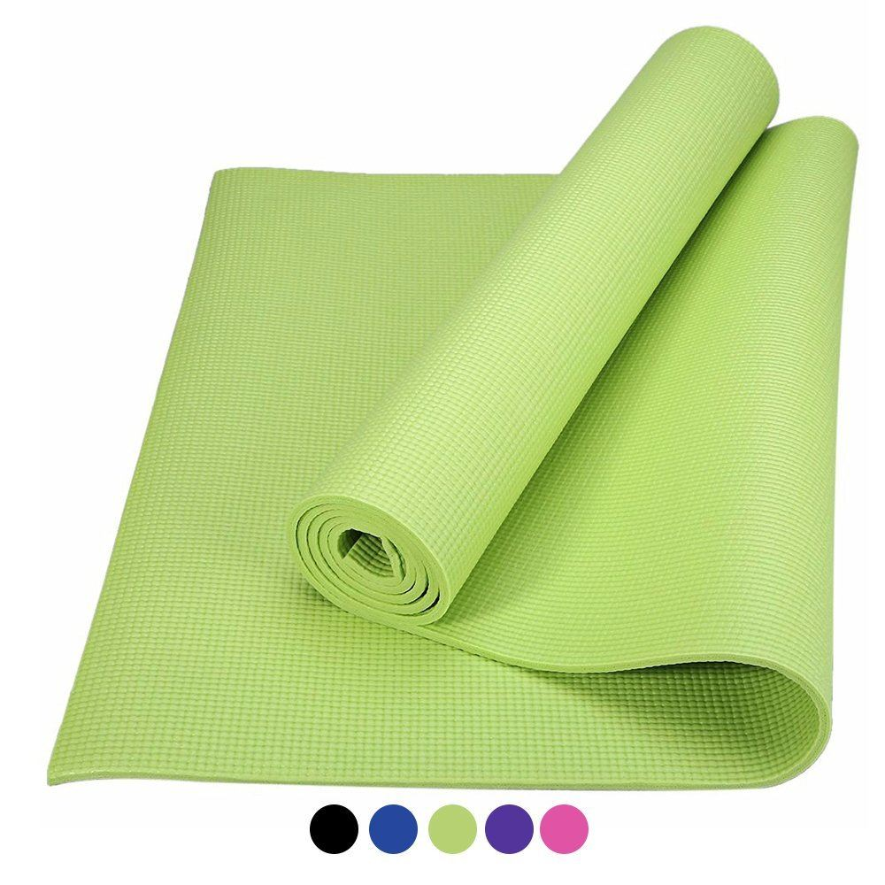 Gym Bag With Yoga Mat Slot Uk: 6mm Non-Slip Thick Yoga Mat Gym Exercise Pilates Fitness