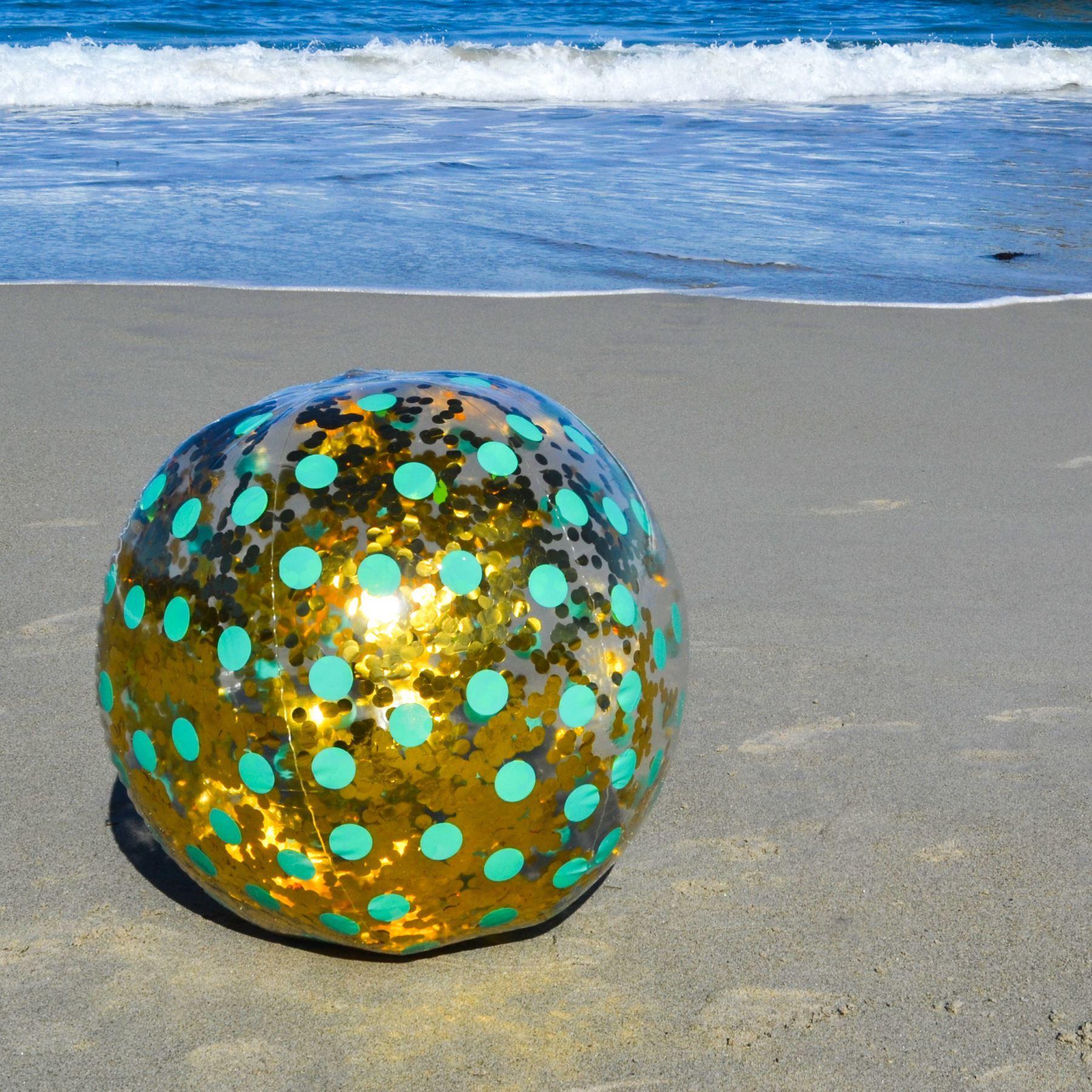 Hinchable Gigante Purpurina Pelota de Playa Grande Jumbo  9ea82630eb86