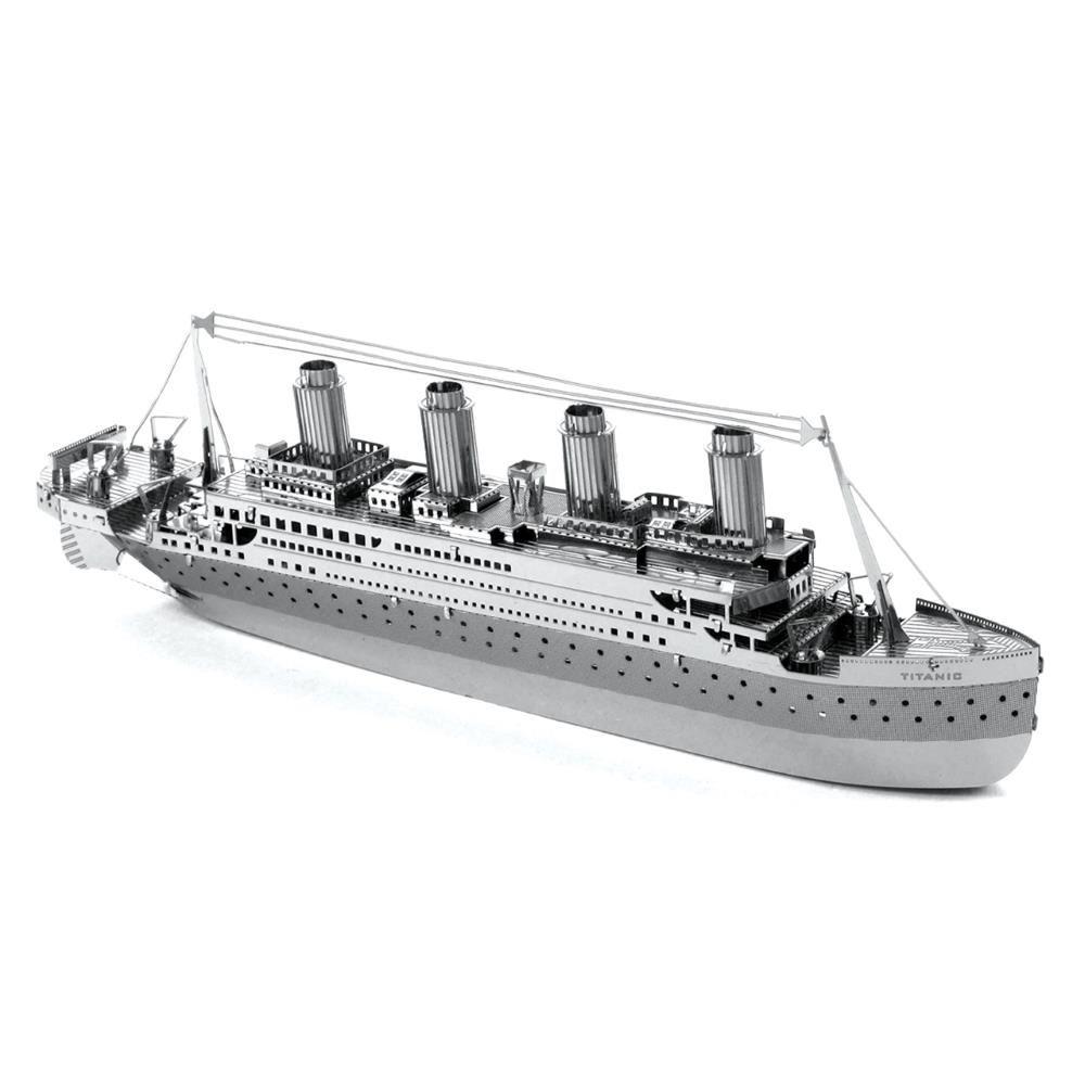Metal-Earth-3D-Models-Laser-Cut-DIY-Steel-Miniatures-15-Designs-NEW miniatuur 14